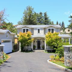 New England Style Residence <br>Los Altos Hills, California