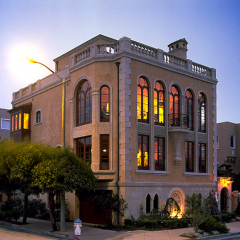 Venetian Style Residence <br>San Francisco, California